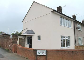 Thumbnail 2 bed semi-detached house for sale in Armill Road, Liverpool, Merseyside