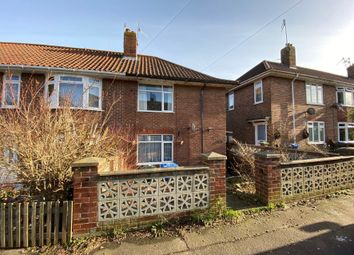 Thumbnail 3 bed semi-detached house for sale in 204 Jex Road, Norwich, Norfolk