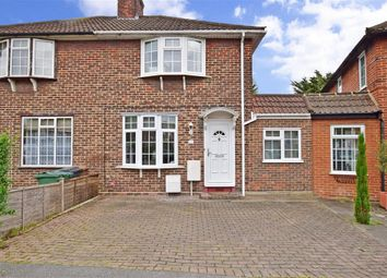 Thumbnail 2 bedroom terraced house for sale in Normanton Park, Chingford, London