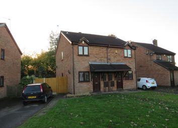 Thumbnail 2 bed semi-detached house for sale in Blackthorn Close, Oakwood, Derby