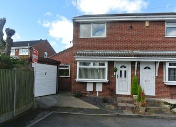 Thumbnail 2 bed semi-detached house for sale in Sherwood Close, Mansfield