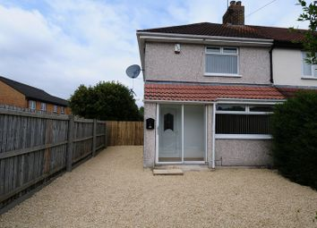 Thumbnail 2 bedroom end terrace house to rent in Kylross Avenue, Whitchurch, Bristol