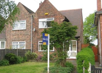 Thumbnail 3 bed semi-detached house to rent in Boundary Road, Beeston
