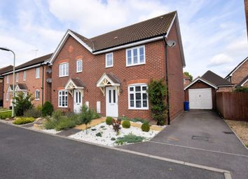 Thumbnail 3 bed semi-detached house to rent in Oatlands Chase, Shinfield, Reading