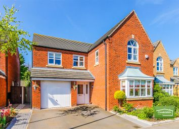 Thumbnail 4 bed detached house for sale in Shire Oak Close, Walsall Wood