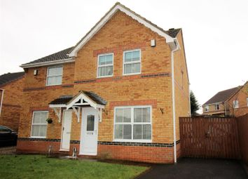 Thumbnail 3 bed semi-detached house for sale in Temple Way, Newton Aycliffe