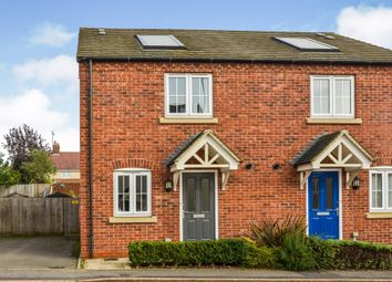 Thumbnail 2 bed semi-detached house for sale in Paddock Close, Silverstone, Northamptonshire