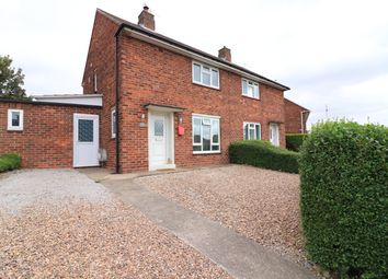 Thumbnail 2 bedroom semi-detached house for sale in Woodhall Drive, Lincoln