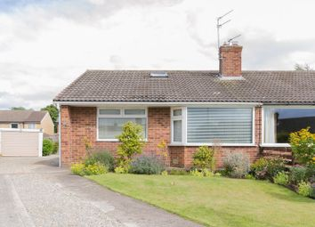 Thumbnail 2 bedroom semi-detached bungalow for sale in Brentwood Crescent, York