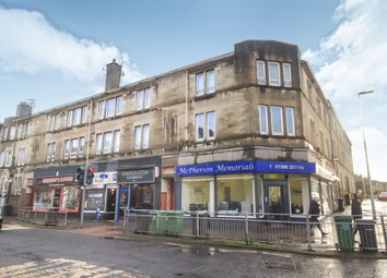 Thumbnail 3 bed flat for sale in High Street, Johnstone