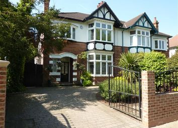 Thumbnail 4 bed semi-detached house for sale in Park Drive, Grimsby
