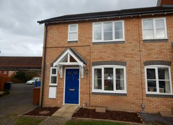 Thumbnail 3 bedroom end terrace house to rent in Lysander Drive, Ipswich