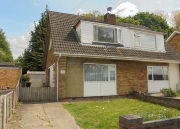 Thumbnail 3 bedroom semi-detached bungalow to rent in Sherburn Crescent, Scunthorpe