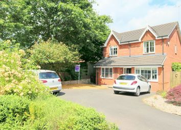 Thumbnail 4 bed detached house for sale in Eaton Way, Audlem, Crewe