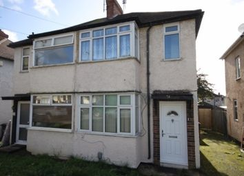 Thumbnail 2 bed semi-detached house to rent in Third Avenue, Luton
