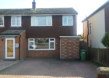 Thumbnail 3 bed semi-detached house to rent in Lowfield Street, Dartford