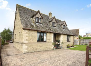 Thumbnail 4 bedroom detached house for sale in Swinbrook Road, Carterton