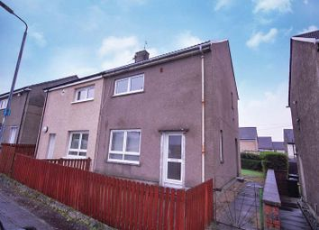 Thumbnail 2 bed semi-detached house for sale in Castlehill Road, Dumbarton