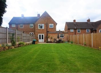 Thumbnail 3 bed semi-detached house for sale in Ridgeway, Derby