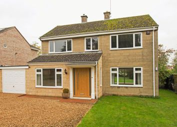 Thumbnail 4 bed detached house to rent in Bainton Road, Barnack, Stamford