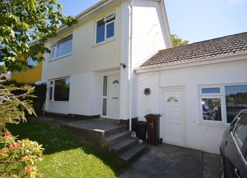 Thumbnail 4 bed semi-detached house to rent in Bosvean Gardens, Truro