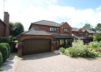Thumbnail 4 bed detached house for sale in Oakfield Gardens, Atherstone