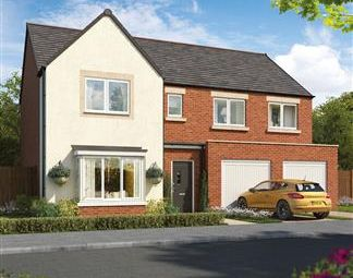 Thumbnail 4 bed detached house for sale in Stephenson Park, Killingworth
