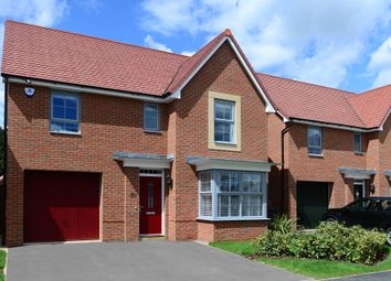 """Thumbnail 4 bedroom detached house for sale in """"Somerton"""" at Warkton Lane, Barton Seagrave, Kettering"""