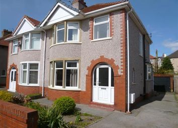 Thumbnail 3 bedroom property to rent in Balmoral Road, Morecambe