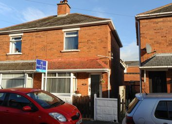 Thumbnail 2 bedroom semi-detached house for sale in Oakdene Parade, Sydenham, Belfast