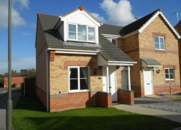Thumbnail 3 bed semi-detached house to rent in Maple Drive, Creswell, Worksop
