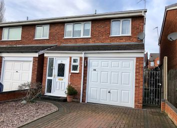 Thumbnail 3 bed end terrace house for sale in Rosewood Close, Tamworth