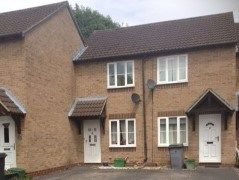 Thumbnail 1 bed terraced house to rent in Orchardene, Newbury