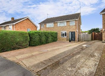 Thumbnail 3 bed semi-detached house for sale in Byron Crescent, Rushden, Northamptonshire