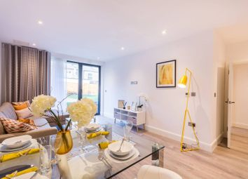 Thumbnail 1 bed flat for sale in Woodside Apartments, Canning Crescent, Wood Green