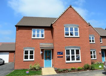 Thumbnail 4 bed detached house for sale in Station Road, Stoney Stanton