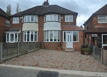 Thumbnail 3 bed semi-detached house to rent in Watwood Road, Shirley, Solihull