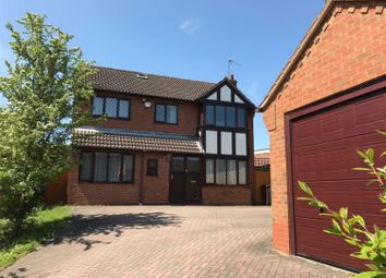 Thumbnail 5 bed detached house to rent in Sandhills Crescent, Solihull