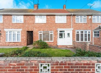 Thumbnail 3 bed terraced house for sale in Galfrid Road, Bilton, Hull