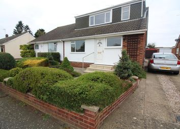 Thumbnail 3 bedroom semi-detached bungalow for sale in Woodland Road, Hellesdon, Norwich