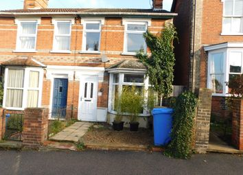 Thumbnail 3 bed terraced house to rent in St. Johns Road, Ipswich