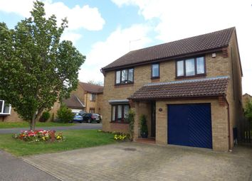 Thumbnail 4 bedroom detached house for sale in Hoylake Drive, Farcet, Peterborough