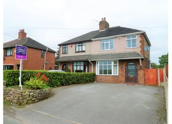 Thumbnail 3 bed semi-detached house for sale in Ball Lane, Stoke-On-Trent