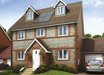 "Thumbnail 4 bedroom detached house for sale in ""Plot 463 - The Silver Birch"" at Wakefords Corner, Sandy Lane, Church Crookham, Fleet"