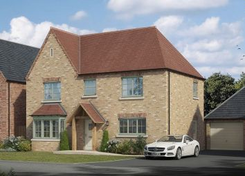 Thumbnail 4 bed detached house for sale in The Aubourn, Lodge Lane, Lincoln