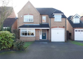 Thumbnail 4 bed detached house for sale in Bretby Hollow, Newhall
