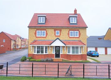 Thumbnail 5 bedroom detached house for sale in Kingfisher Road, Shepton Mallet