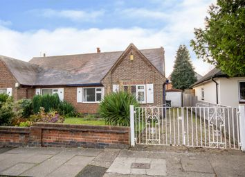 Thumbnail 3 bed semi-detached bungalow for sale in Hillside Drive, Long Eaton, Nottingham