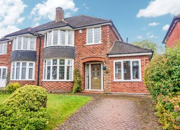 Thumbnail 3 bed semi-detached house for sale in Hathaway Road, Four Oaks, Sutton Coldfield