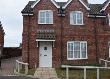 Thumbnail 3 bed semi-detached house to rent in Old School Close, Feltwell